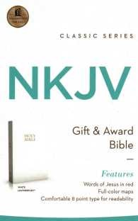 Angol Biblia New King James Version Gift and Award Bible White (Imitation Leather)