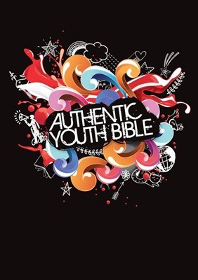 Angol Biblia Easy-to-Read Version Authentic Youth Bible Black (Hardback)