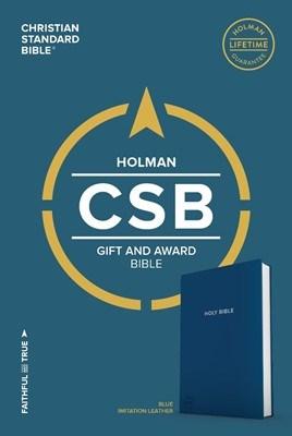 Angol Biblia Christian Standard Bible Gift and Award Bible Blue