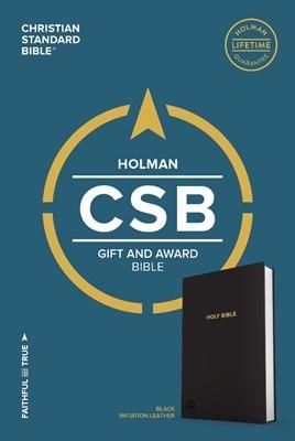 Angol Biblia Christian Standard Bible Gift and Award Bible Black (Imitation Leather)