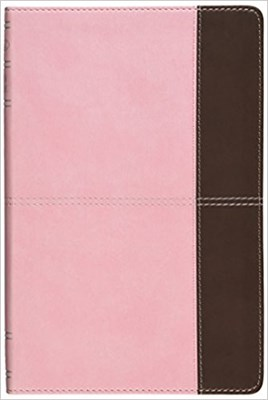 Angol Biblia New King James Version Ultrathin Reference Bible Pink/Brown (Leathertouch)