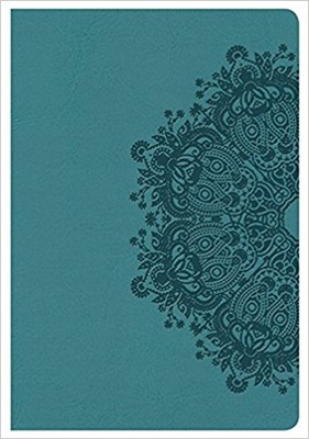Angol Biblia King James Version Compact Ultrathin Bible Teal (Leathertouch)