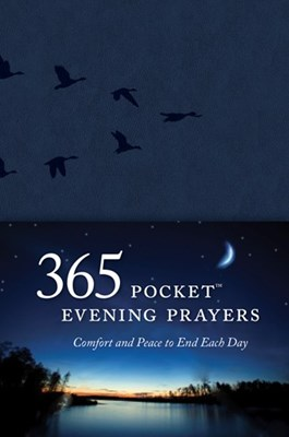 365 Evening Pocket Prayers (Leatherlike)
