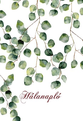 Hálanapló (zöld levelek) (Keménytáblás)