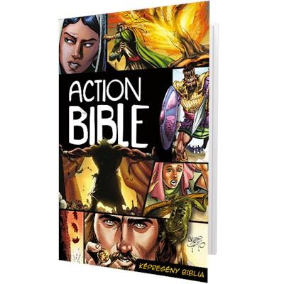 Action Bible Képregény Biblia (Keménytáblás)