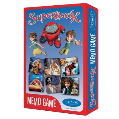 Superbook memo game (Doboz)
