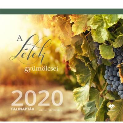 Közepes falinaptár 2020 A Lélek gyümölcsei (Füzetkapcsolt)