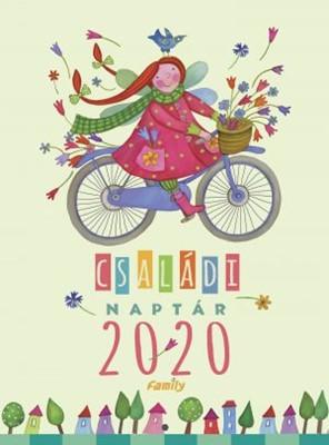 Családi naptár 2020 (Spirálozott)