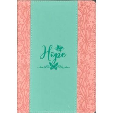 Exkluzív műbőr angol napló Reménység