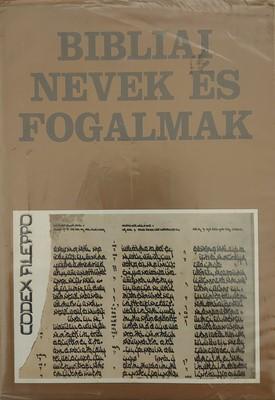 Bibliai nevek és fogalmak (Papír) [Használt könyv]
