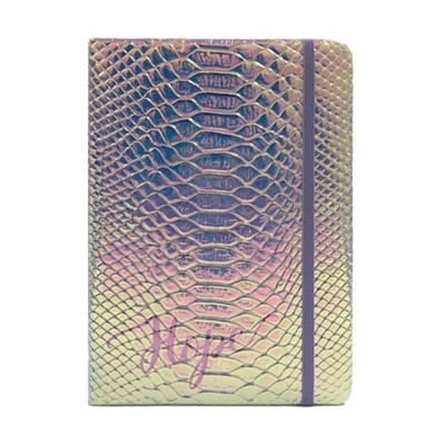 Exkluzív műbőr angol napló Hope (Iridescent Faux Leather)