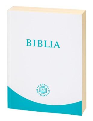 Biblia revideált új fordítás, nagy, kartonált, türkiz (Papír)