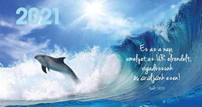 Zsebnaptár 2021 delfin (Papír)