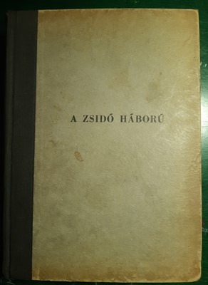 A zsidó háború (Kemény) [Antikvár könyv]