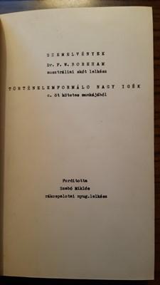 Történelemformáló nagy igék (Kemény) [Antikvár könyv]