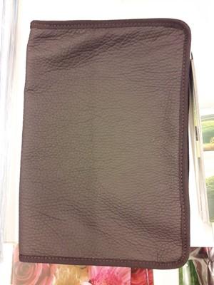 bőr borító EFO Bibliára barna (Bőr)