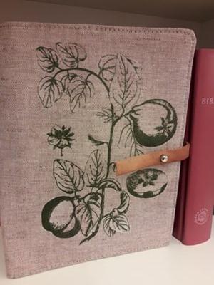 Szövet borító közepes revideált új fordítású Bibliára gyümölcsös (Szövet)