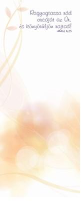 jegyzettömb Ragyogtassa rád orcáját az Úr (Ragasztott)