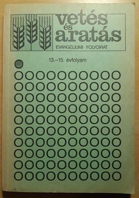 Vetés és aratás 13-15. évfolyam (Papír) [Antikvár könyv]