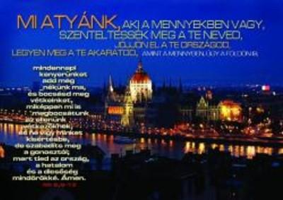Képeslap-csomag Miatyánk / Parlament