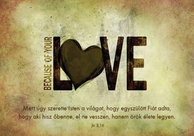 Képeslap-csomag LOVE