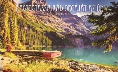Képeslap-csomag Hegyi táj tóval