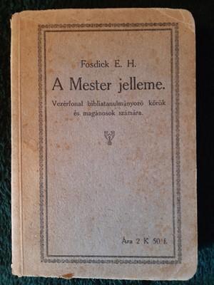 A mester jelleme (Papír) [Antikvár könyv]