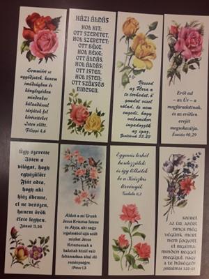 Könyvjelző-csomag Rózsák 2.