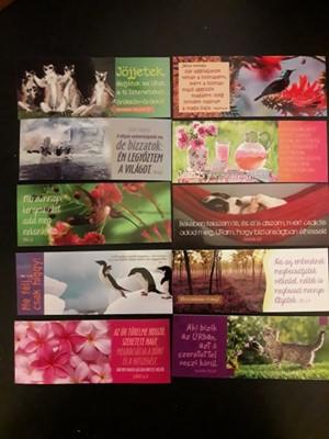 Könyvjelző-csomag állatok és virágok 2.
