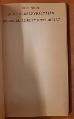A hit versenypályáján - Nyerd el az élet koszorúját (Könyvkötői műbőr) [Antikvár könyv]