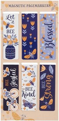 Mágneses könyvjelzőcsomag Méhecskék (Csomag)