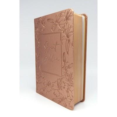 Biblia Károli fordítás közepes rosegold sima (Műbőr)