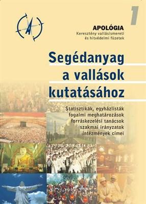 Segédanyag a vallások kutatásához (Füzet)