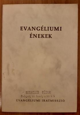 Evangéliumi énekek (Papír) [Antikvár könyv]