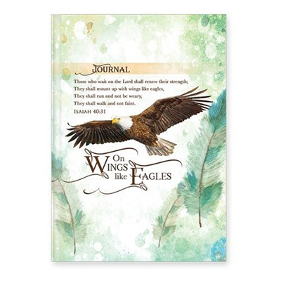 Keménytáblás angol napló On Wings Like Eagles (Keménytáblás)