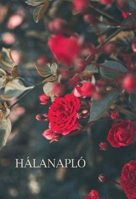 Hálanapló (piros rózsa) (Keménytáblás)