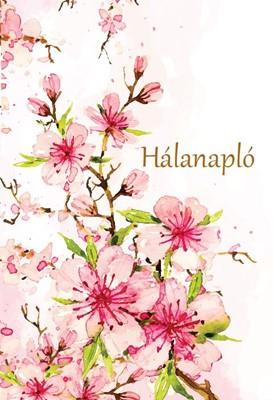 Hálanapló (cseresznyevirágok) (Keménytáblás)