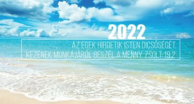Zsebnaptár 2022 tengerpart (Papír)