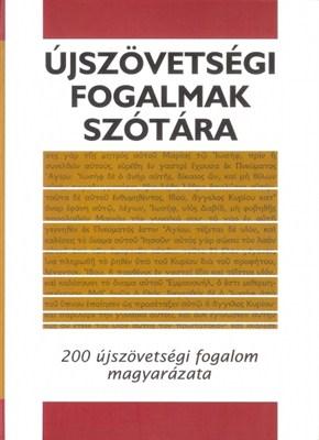 Újszövetségi fogalmak szótára (papír)