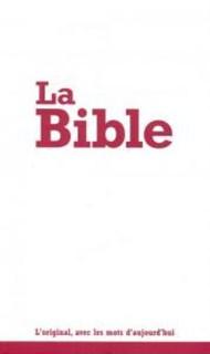 Francia Biblia Segond 21, fehér