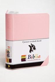 Biblia revideált Károli kicsi exkluzív (rózsaszín)