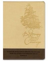 Exkluzív műbőr angol napló hajó