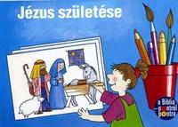 Jézus születése - kifestőkönyv