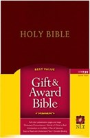 Angol Biblia New Living Translation Gift and Award Bible - Burgundy