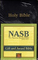 Angol Biblia New American Standard Bible Gift and Award - Black