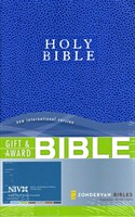 Angol Biblia New International Version Gift and Award Bible - Blue