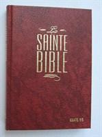 Francia Biblia Segond, bordó, keménytáblás (keménytáblás)
