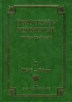 Újszövetségi kommentár I. Máté-Róma