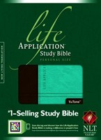 NLT Life Applictation Study Bible Personal Size (Leather look / Műbőr)