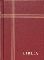 Biblia revideált új fordítás, nagy, vászon, bordó